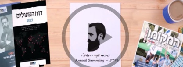 Watch: Im Tirtzu 2015-2016 Annual Summary