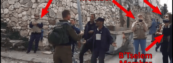Anti-Israel Group Leaves Hebron Folloing IMTI's Activities