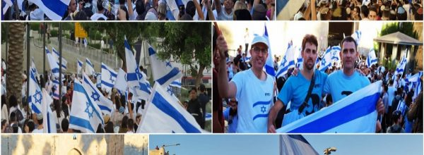 In Case You Missed Our Previous Newsletter About the Jerusalem Flag March